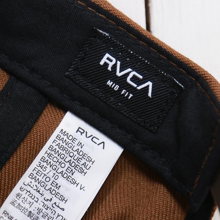 RVCA ルーカ COMMONWEALTH SNAPBACK HAT スナップバックキャップ MDAHWCWS TOBACCO
