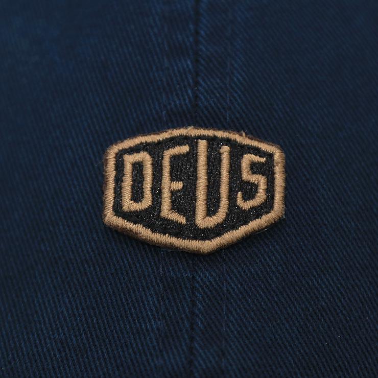 【送料無料】Deus Ex Machina デウスエクスマキナ SHIELD STANDARD DAD CAP ストラップバックキャップ DMF207881