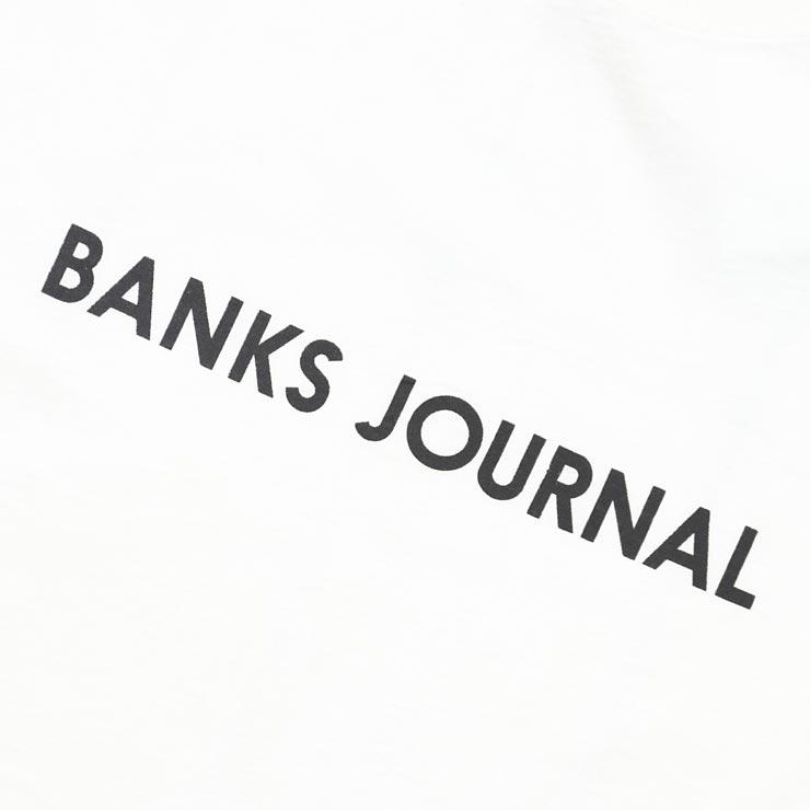 [クリックポスト対応] BANKS バンクス LABEL CORE S/S TEE 半袖Tシャツ WTS0313