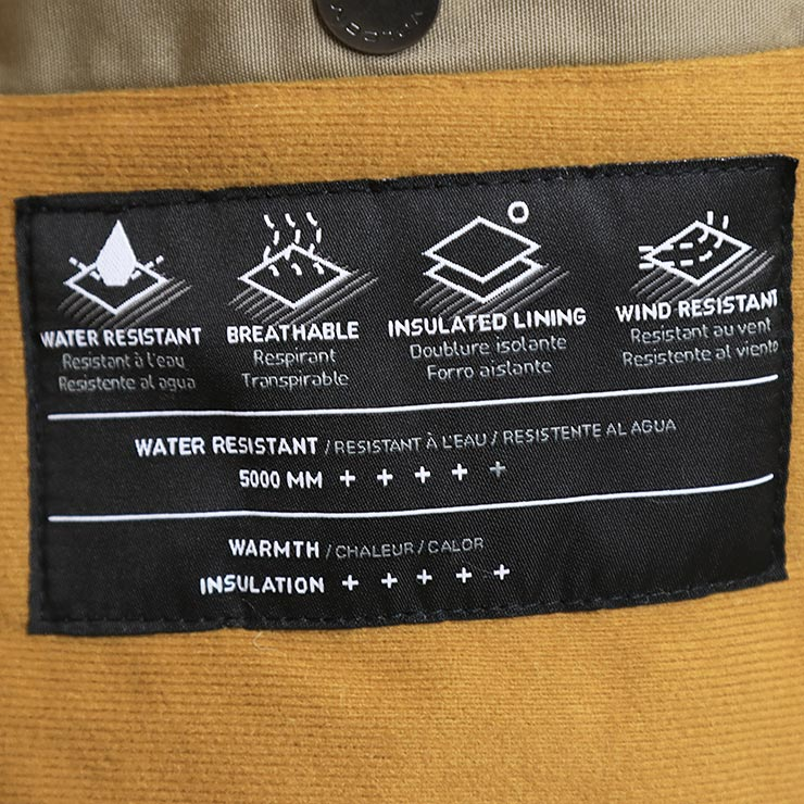 【送料無料】 VOLCOM ボルコム HERNAN 5K JACKET フード付きジャケット A1731900 BNL
