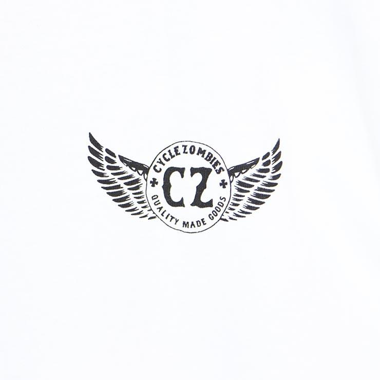 [クリックポスト対応] Cycle Zombies サイクルゾンビーズ OFFICER S/S TEE 半袖Tシャツ CZ-MTSS-035