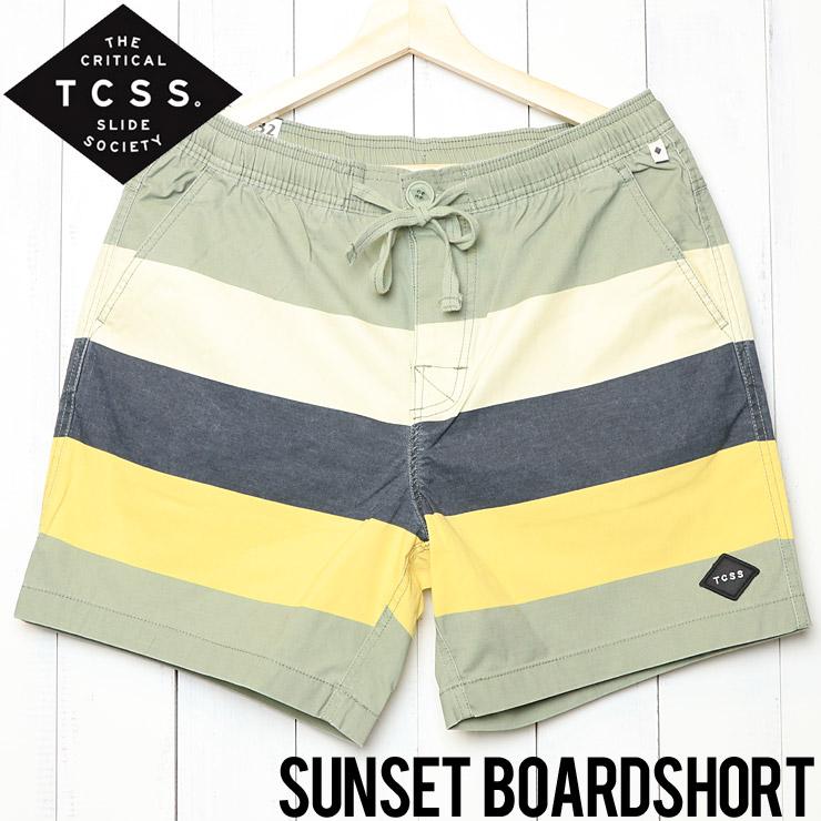 [訳あり商品] TCSS ティーシーエスエス SUNSET BOARD SHORT ボードショーツ BS1868