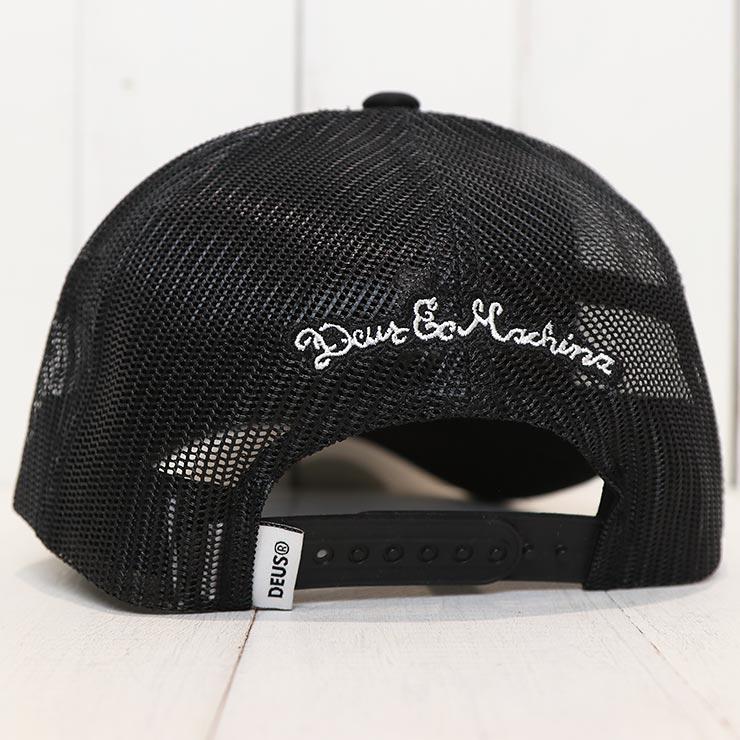 【送料無料】 Deus Ex Machina デウスエクスマキナ CURVY TRUCKER CAP メッシュキャップ DMF87501