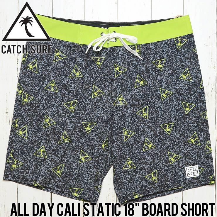 """[クリックポスト対応] CATCH SURF キャッチサーフ ALL DAY CALI STATIC 18"""" BOARD SHORT ボードショーツ A7BRD002"""