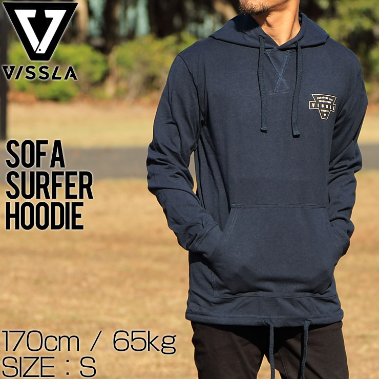 VISSLA ヴィスラ SOFA SURFER HOODIE プルオーバーパーカー フーディ M604JVIN