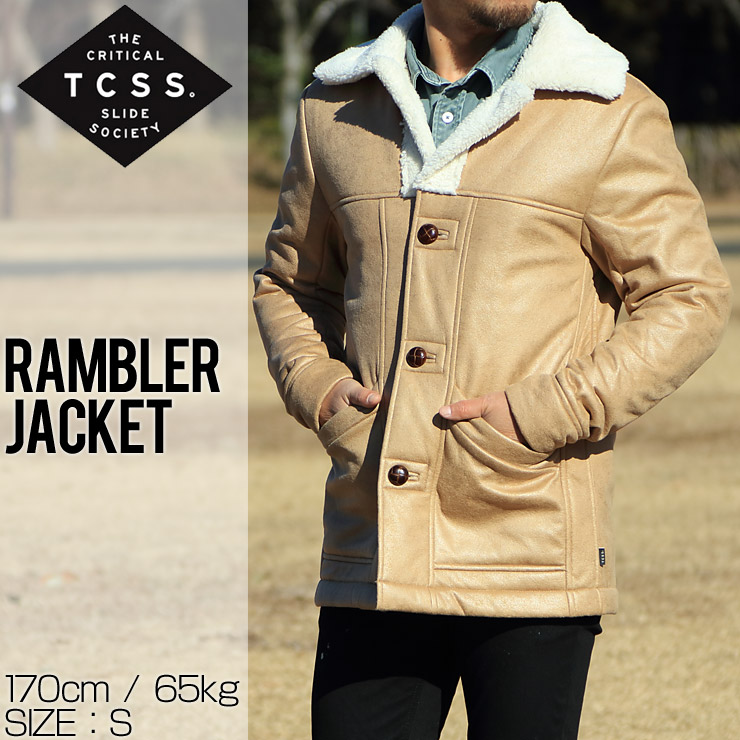 TCSS ティーシーエスエス RAMBLER JACKET ボアジャケット JK1813