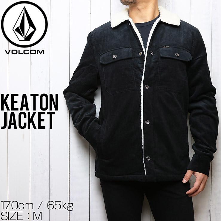 【送料無料】 VOLCOM ボルコム KEATON JACKET ボアジャケット A1731904
