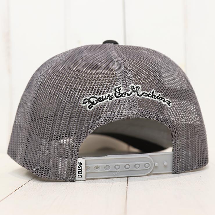 【送料無料】 Deus Ex Machina デウスエクスマキナ CAPS TRUCKER CAP メッシュキャップ DMF87502