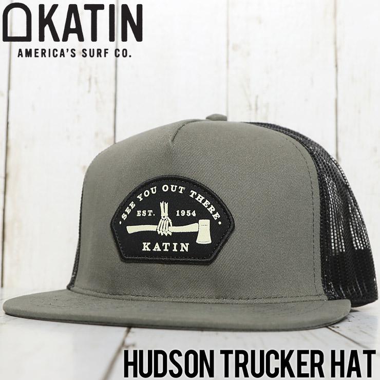 KATIN ケイティン HUDSON TRACKER HAT メッシュキャップ HTHUD02