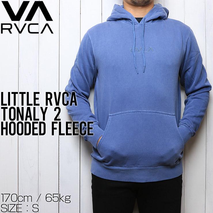 RVCA ルーカ LITTLE RVCA TONALY 2 HOODED FLEECE プルオーバーパーカー フーディ M621VRLI CNB