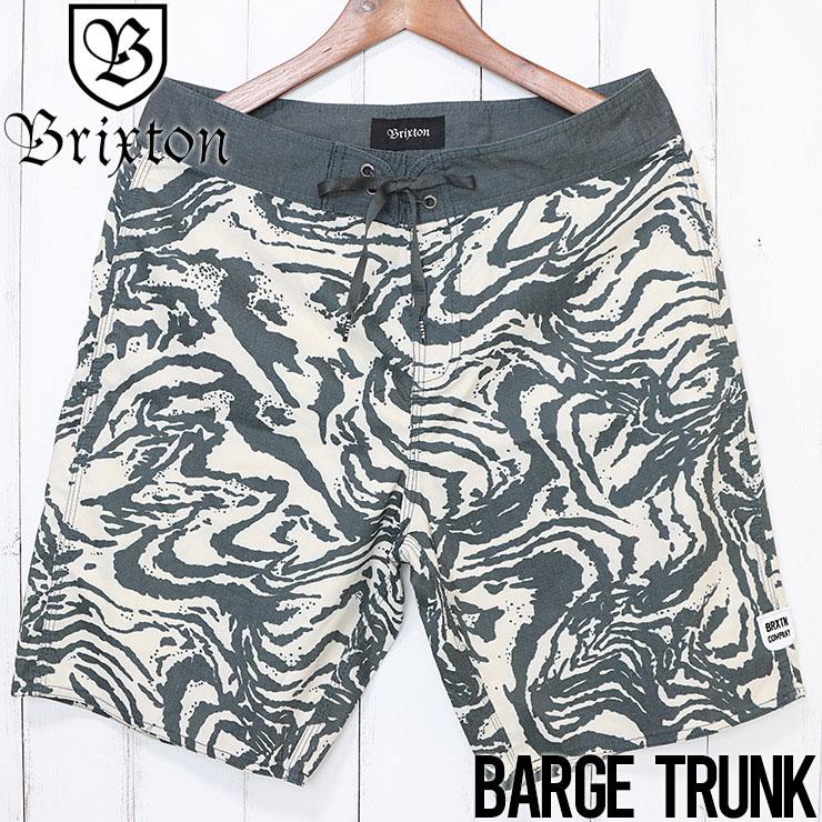 [クリックポスト対応] BRIXTON ブリクストン BARGE TRUNK ボードショーツ 04063 WABKN