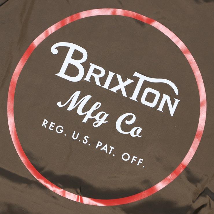 [クリックポスト対応] BRIXTON ブリクストン WHEELER JACKET コーチジャケット 03137
