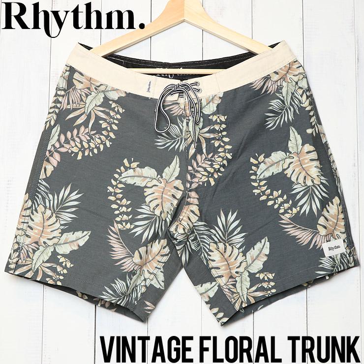 [クリックポスト対応] Rhythm リズム VINTAGE FLORAL TRUNK ボードショーツ APR19M-TR08