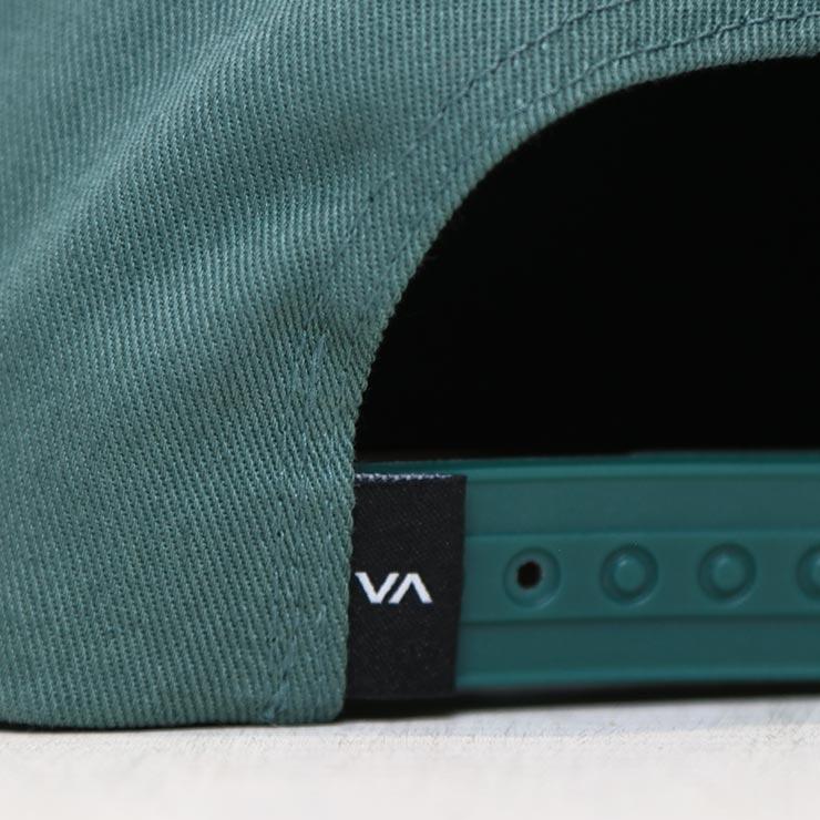 【送料無料】 RVCA ルーカ SQUARE SNAPBACK HAT スナップバックキャップ VYHA00152 ABG