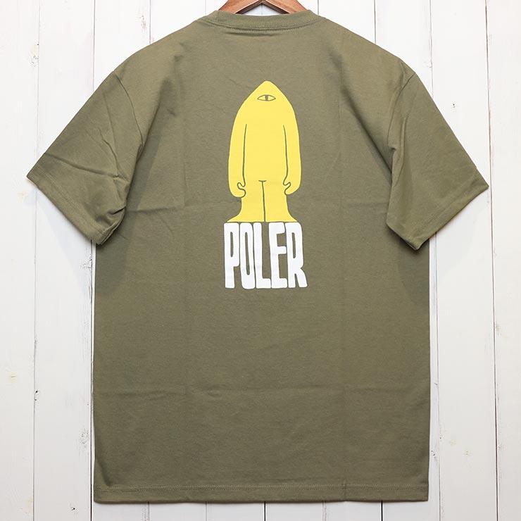 [クリックポスト対応] POLeR ポーラー TIRED BOY S/S TEE 半袖Tシャツ 211APM2003