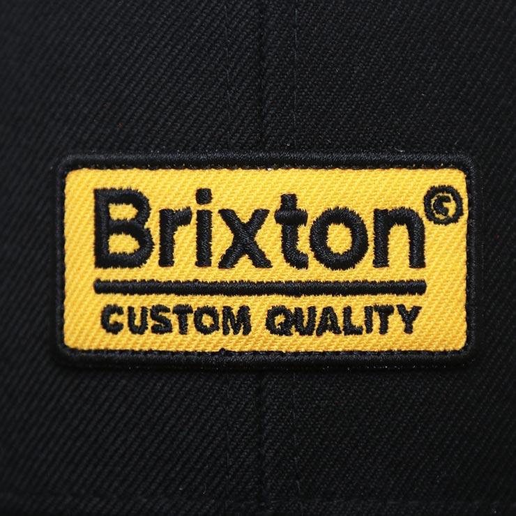 BRIXTON ブリクストン PALMER II MP SNAPBACK CAP スナップバックキャップ 10311 BKGLD