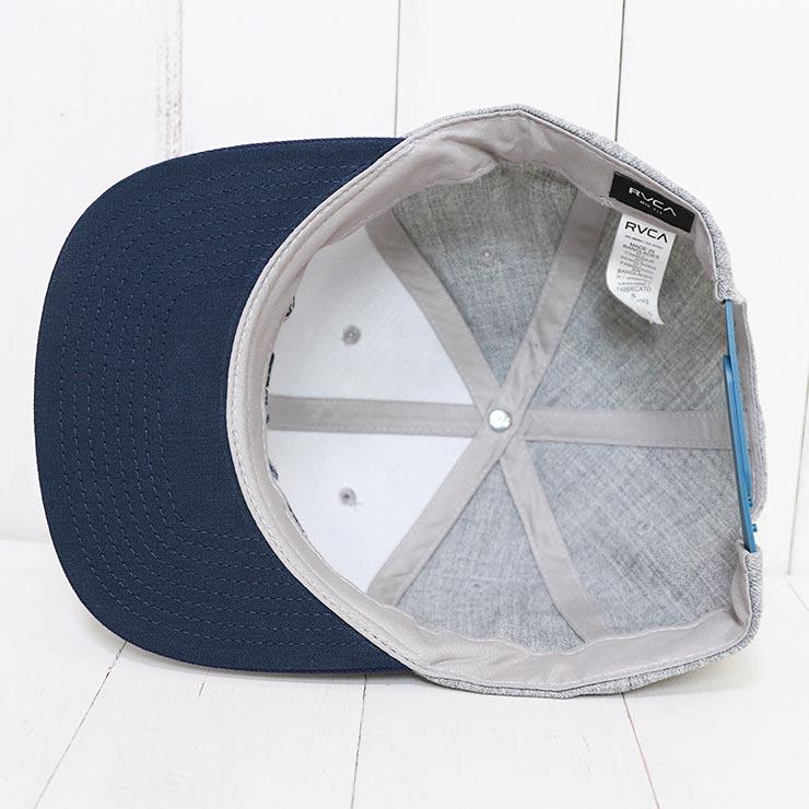 【送料無料】 RVCA ルーカ 【送料無料】 RVCA TWILL SNAPBACK HAT スナップバックキャップ MAAHWRSB GHY