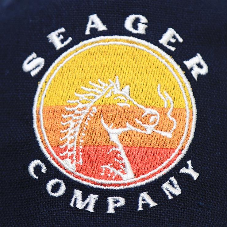 【送料無料】SEAGER シーガー HIGH HORSE SNAPBACK スナップバックキャップ NAVY