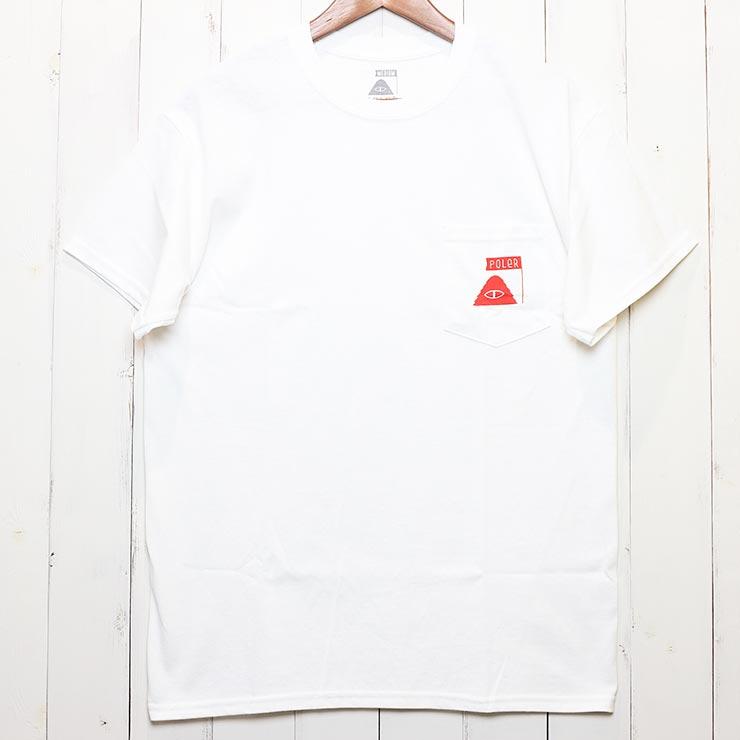 [クリックポスト対応] POLeR ポーラー SUMMIT POCKET S/S TEE 半袖Tシャツ 211APM2009