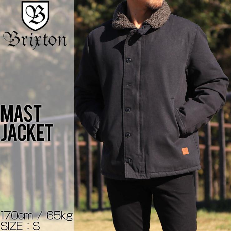 BRIXTON ブリクストン MAST JACKET ボアジャケット ブルゾン 03005