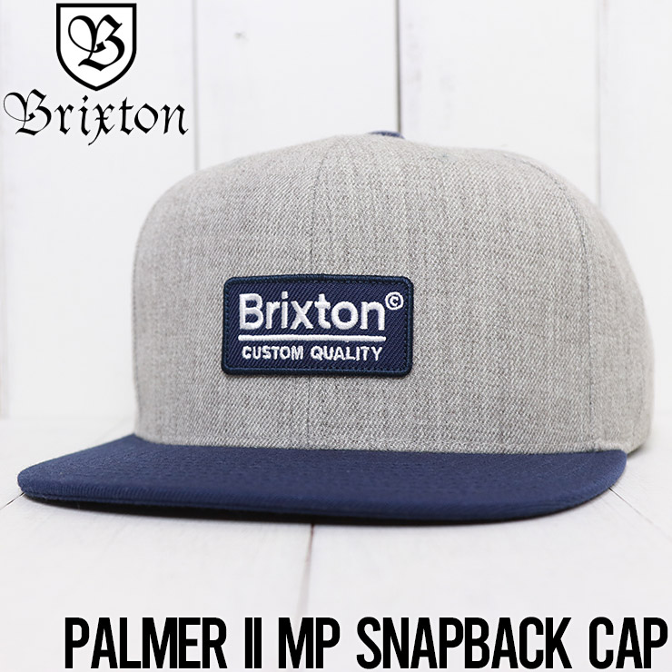 BRIXTON ブリクストン PALMER II MP SNAPBACK CAP スナップバックキャップ 10311 HTGWN
