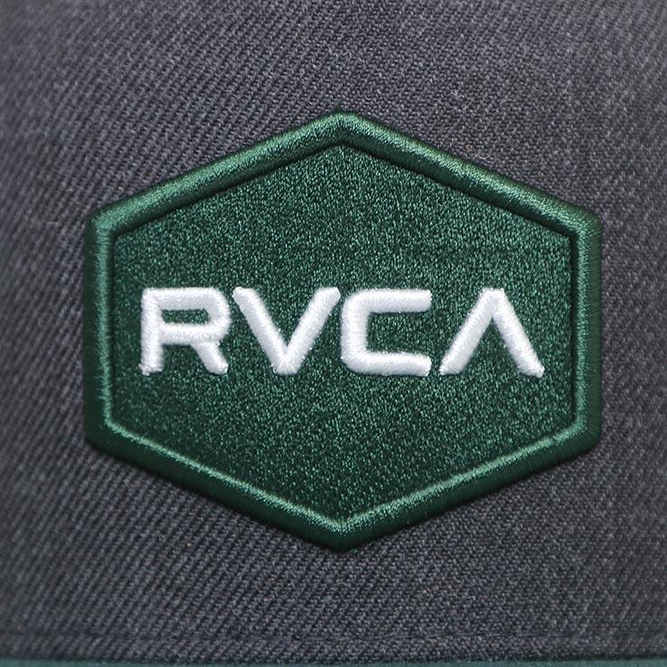 【送料無料】 RVCA ルーカ COMMONWEALTH SNAPBACK HAT スナップバックキャップ MDAHWCWS CGN [FB]