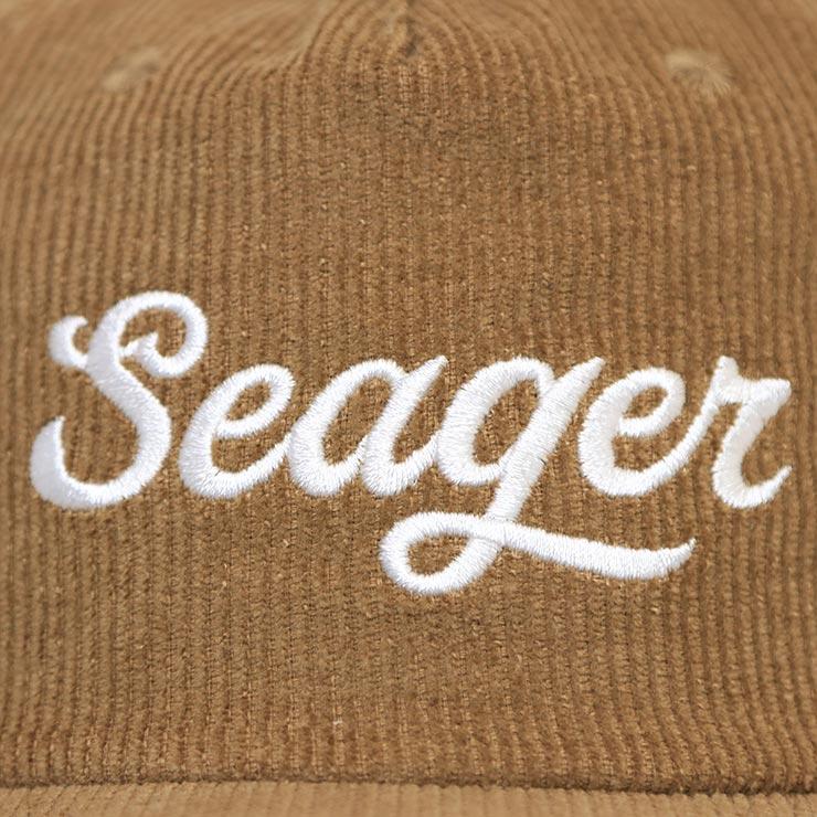 【送料無料】SEAGER シーガー BIG KHAK SNAPBACK スナップバックキャップ KHAKI