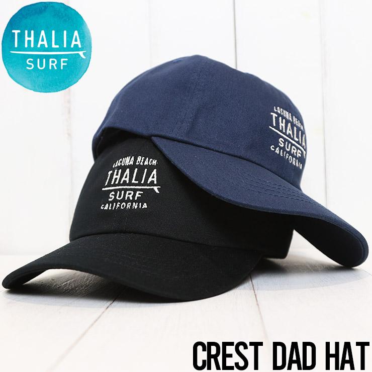 THALIA SURF タリアサーフ CREST DAD HAT ストラップバックキャップ