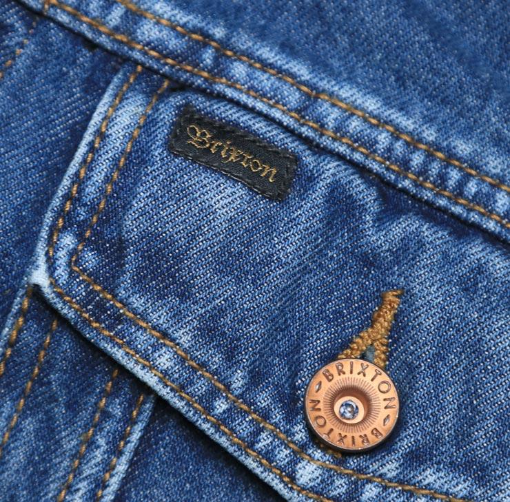 BRIXTON ブリクストン CABLE DENIM JACKET デニムジャケット ブルゾン 03199
