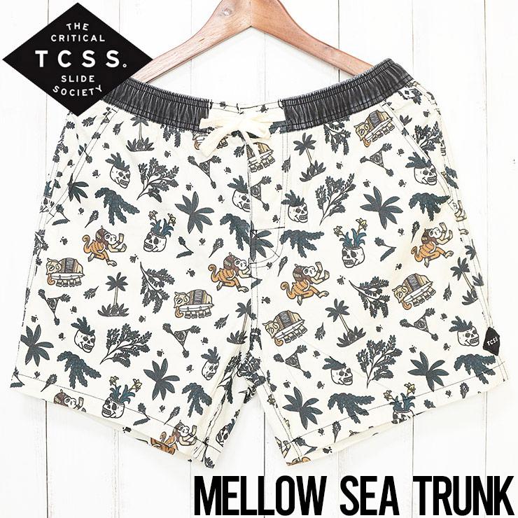 [クリックポスト対応] TCSS ティーシーエスエス MELLOW SEA TRUNK BOARD SHORT ボードショーツ SWB1715