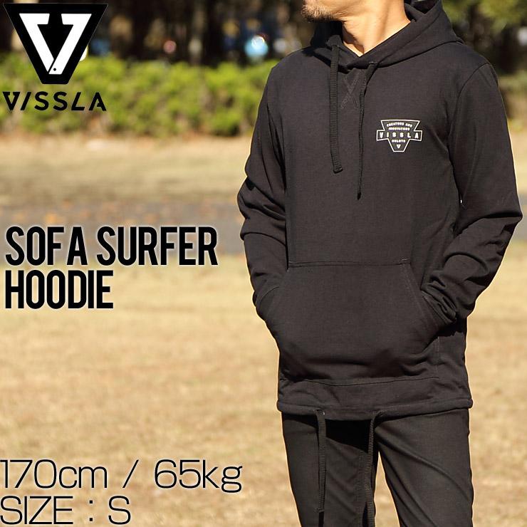 訳あり商品 VISSLA ヴィスラ SOFA SURFER HOODIE プルオーバーパーカー フーディ M604JVIN
