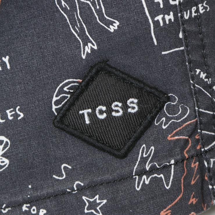 [クリックポスト対応] TCSS ティーシーエスエス BLACK HOLE BOARD SHORT ボードショーツ BS1890