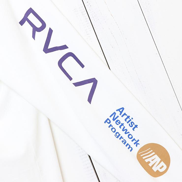 [クリックポスト対応] RVCA ルーカ ANP L/S TEE ロングスリーブTEE M4631RAN