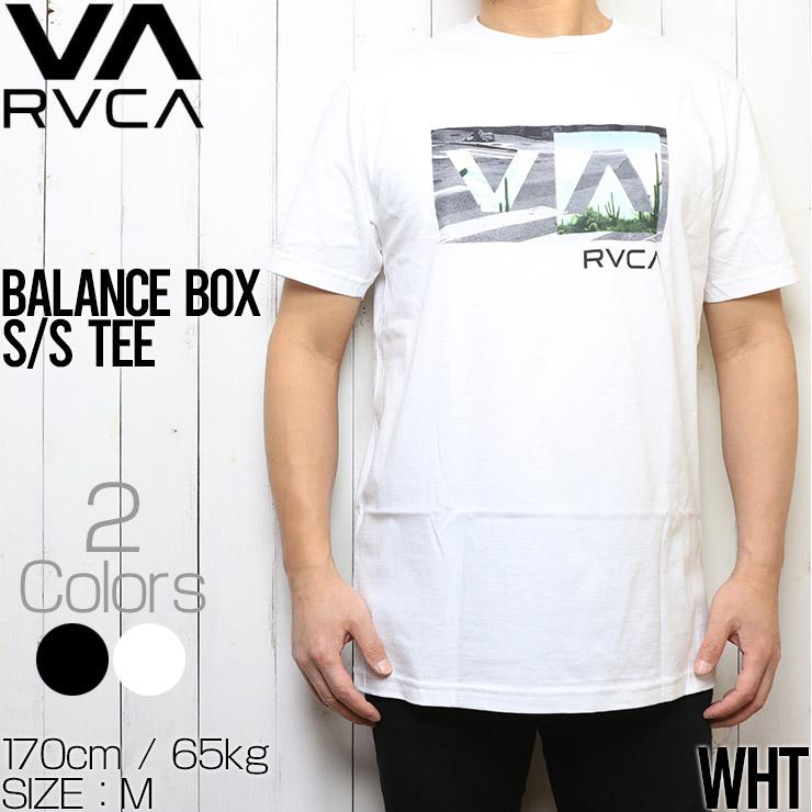 [クリックポスト対応] RVCA ルーカ BALANCE BOX S/S TEE 半袖Tシャツ AVYZT00234