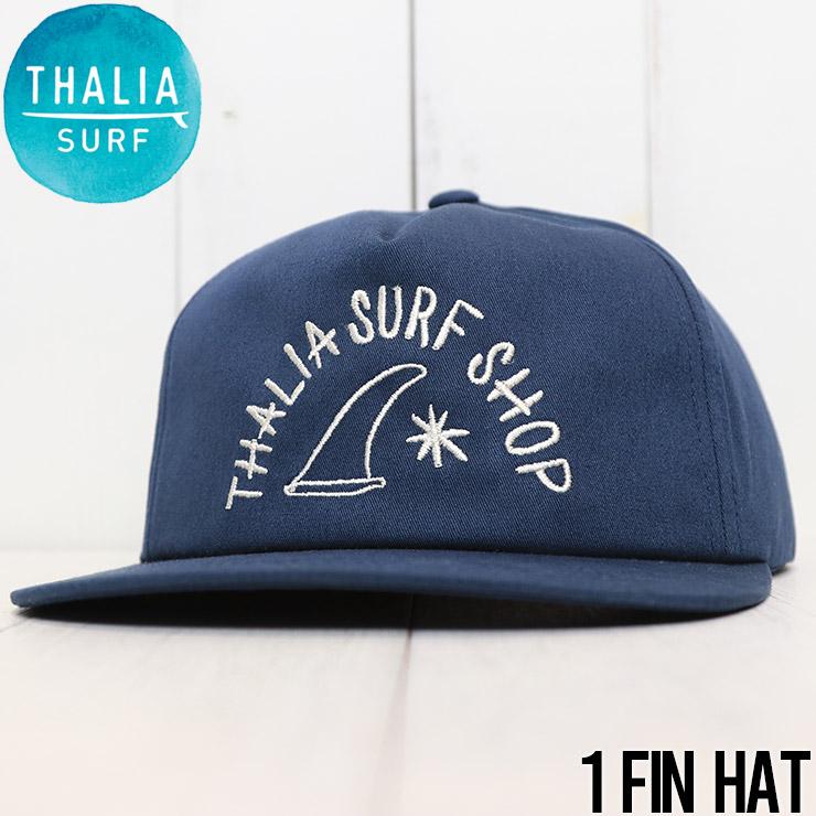 THALIA SURF タリアサーフ 1 FIN HAT スナップバックキャップ 帽子 ハット