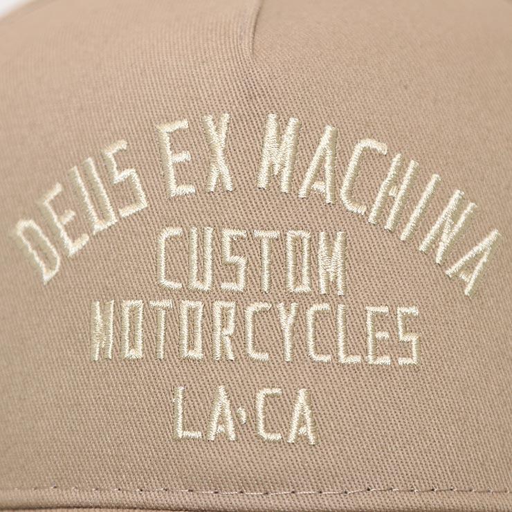 【送料無料】Deus Ex Machina デウスエクスマキナ BUFFALO TRUCKER CAP スナップバックキャップ DMP207834