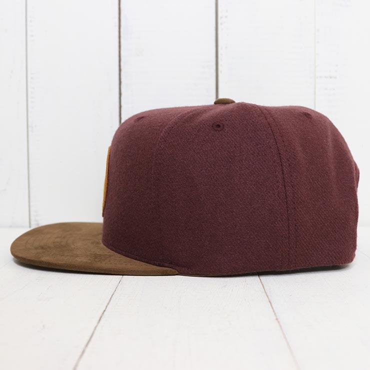 【送料無料】 BRIXTON ブリクストン WHEELER SNAPBACK CAP スナップバックキャップ 00375 PLUM