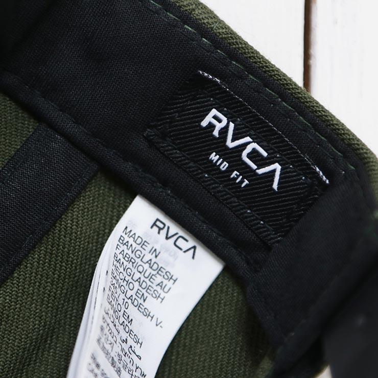【送料無料】 RVCA ルーカ RVCA TWILL SNAPBACK III HAT スナップバックキャップ MAAHWRSB ALO
