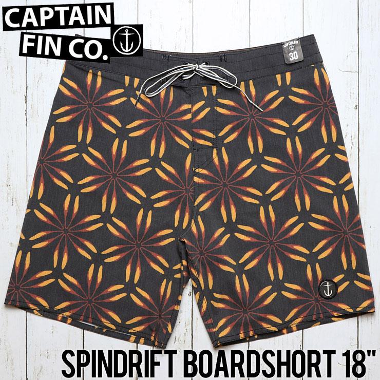 """[クリックポスト対応] CAPTAIN FIN キャプテンフィン SPINDRIFT BOARDSHORT 18"""" ボードショーツ サーフパンツ CR181002"""