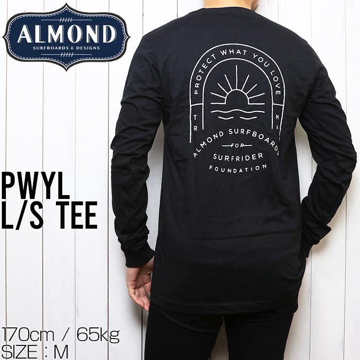[クリックポスト対応] ALMOND SURF アーモンドサーフ PWYL L/S TEE ロングスリーブTEE ロンT