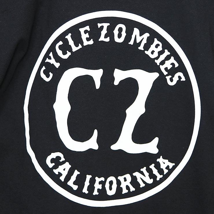 [クリックポスト対応] Cycle Zombies サイクルゾンビーズ CALIRORNIA 2 S/S TEE 半袖Tシャツ CZ-MPSS-091