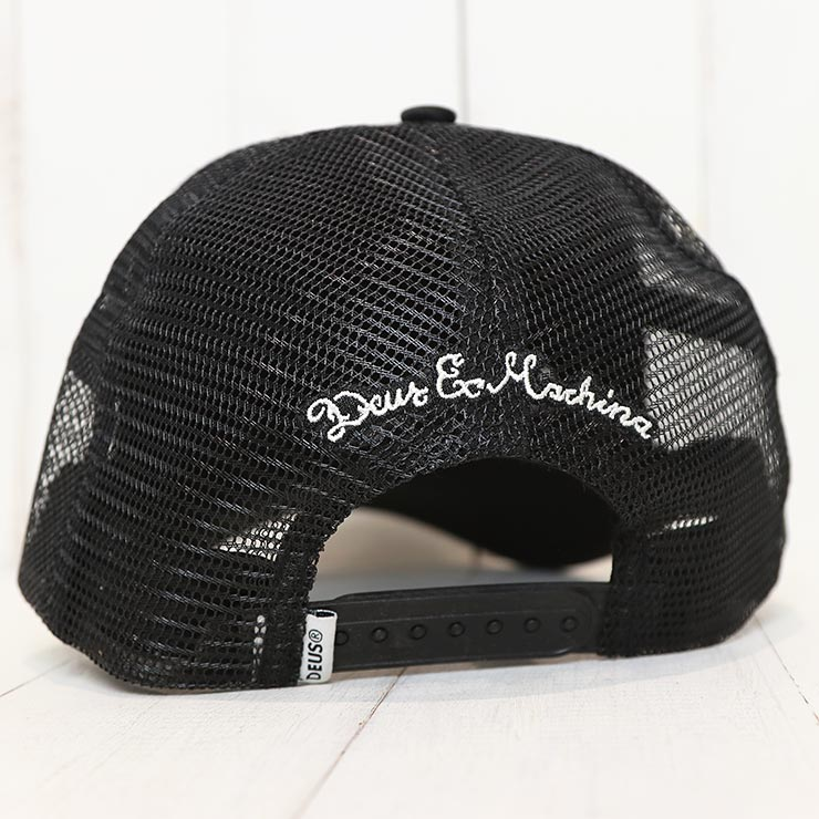 【送料無料】 Deus Ex Machina デウスエクスマキナ MORETOWN TRUCKER CAP メッシュキャップ DMP87096
