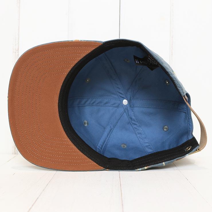 【送料無料】 THE ROARK REVIVAL ロアークリバイバル SAFECAMP DOBBY 6 PANEL HAT ストラップバックキャップ RH513
