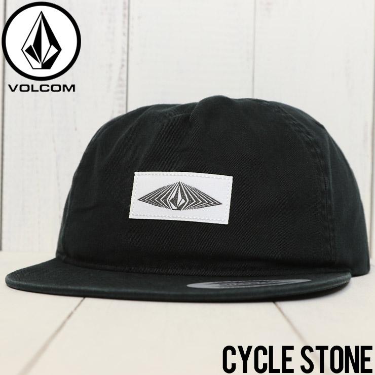 【送料無料】 VOLCOM ボルコム CYCLE STONE CAP スナップバックキャップ D5541801