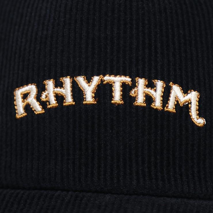 【送料無料】 Rhythm リズム VALLEY CAP ストラップバックキャップ JUL20M-CP01 BLACK