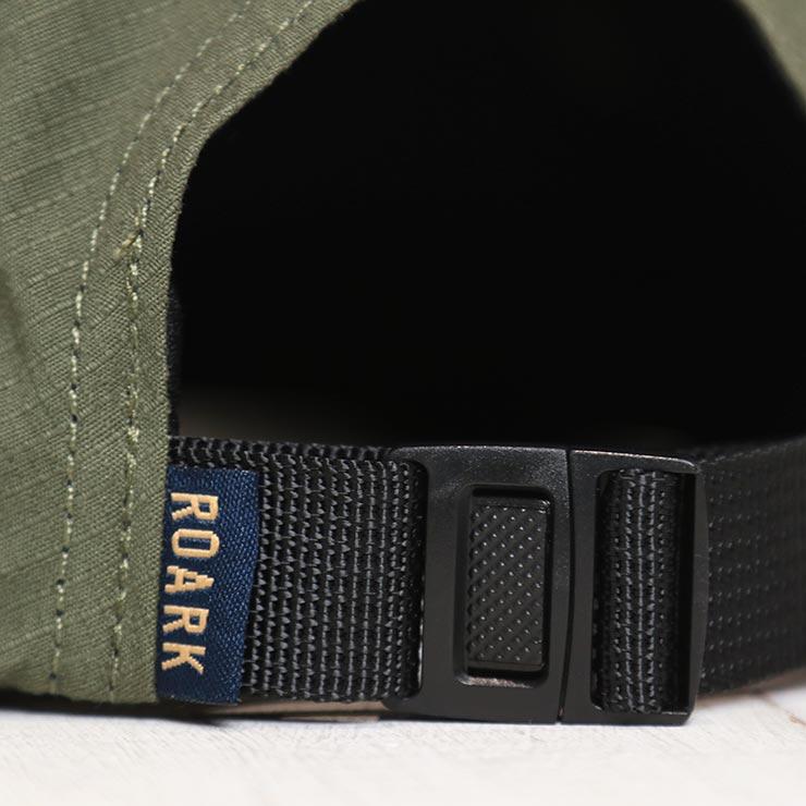 【送料無料】 THE ROARK REVIVAL ロアークリバイバル PEAKING CAMPER HAT ストラップバックキャップ RH515