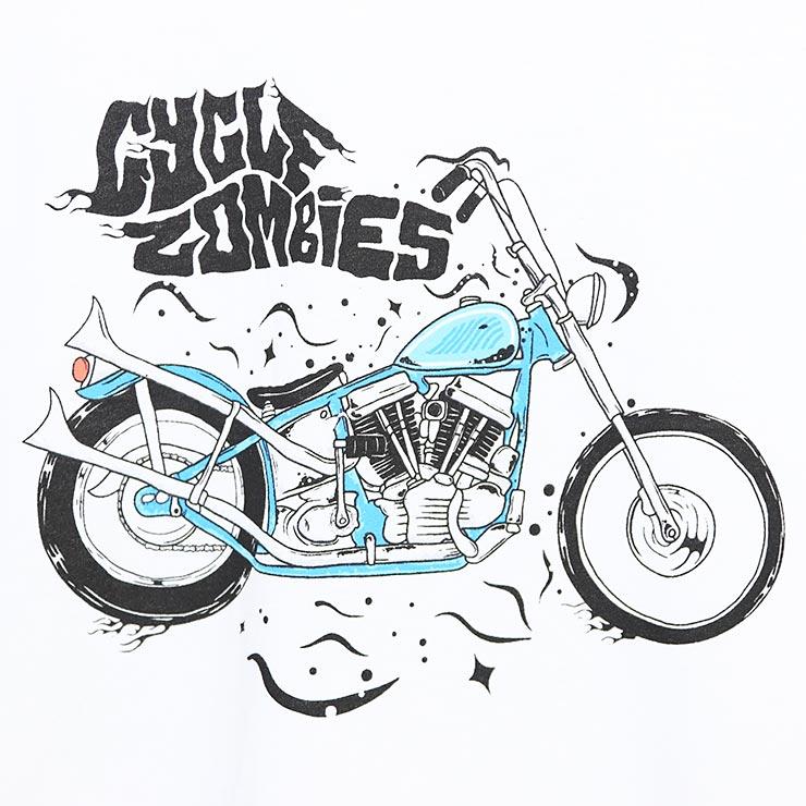 [クリックポスト対応] Cycle Zombies サイクルゾンビーズ BLU S/S TEE 半袖Tシャツ CZ-GMSS-015
