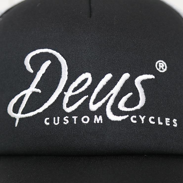 【送料無料】 Deus Ex Machina デウスエクスマキナ DEUS CUSTOM TRUCKER HAT メッシュキャップ DMW47275