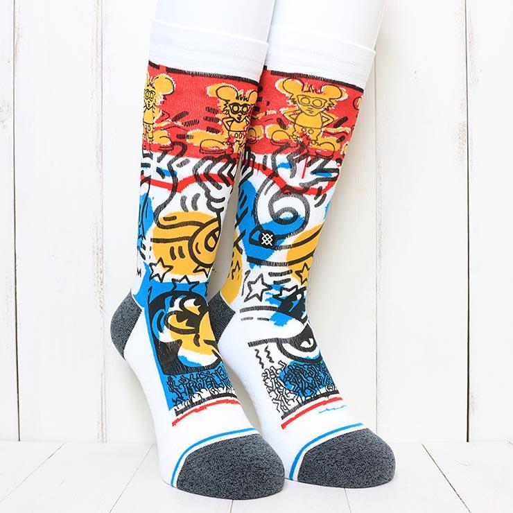 [クリックポスト対応] STANCE スタンス PRIMARY HARING SOCKS ソックス 靴下 M545D20PRI
