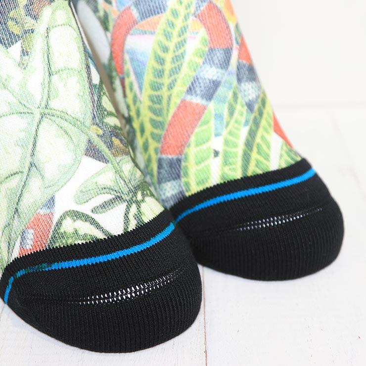 [クリックポスト対応] STANCE スタンス JUNGLE LIFE SOCKS ソックス 靴下 A555C21JUN